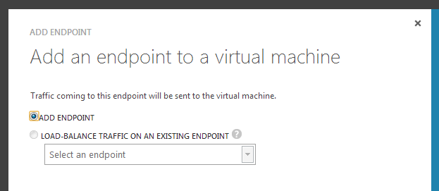 Create EndPoint