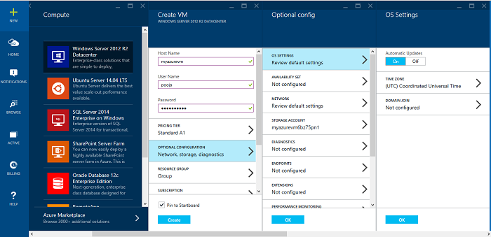 Creating Azure Virtual Machines - CodeProject