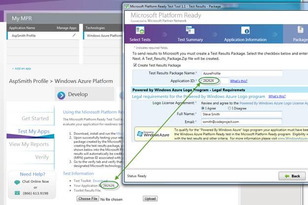 azure web application test telnet