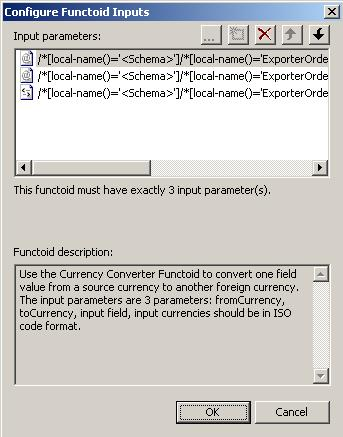 Currency Converter Functoid Configuration