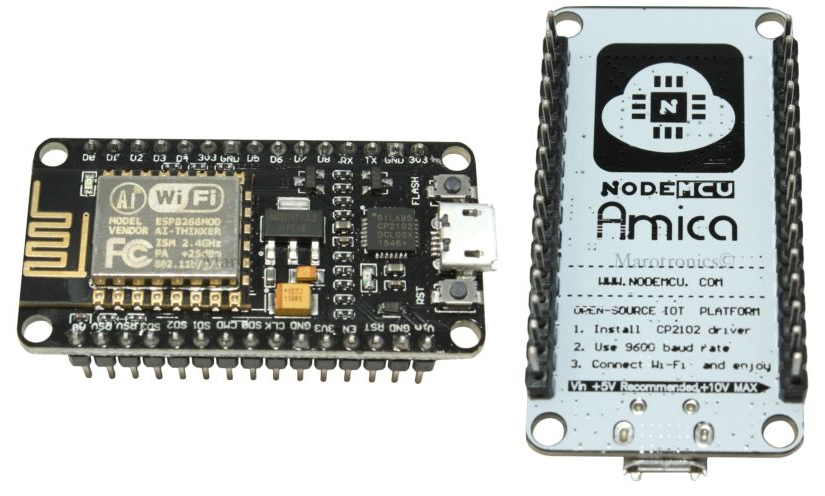 JavaScript-Based IoT/WoT Development with the ESP8266