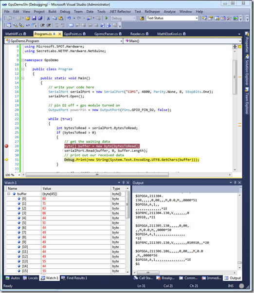 Write To Serial Port C#