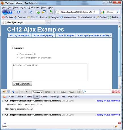 Ajax with jQuery - CodeProject