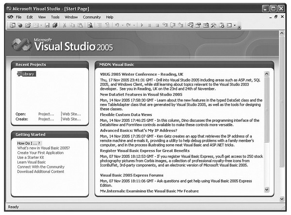 Start-to-Finish Visual Basic 2005: Chapter 1 - Introducing