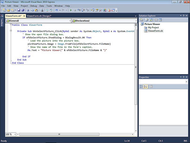Excerpt from Sams Teach Yourself Visual Basic 2010 in 24 Hours