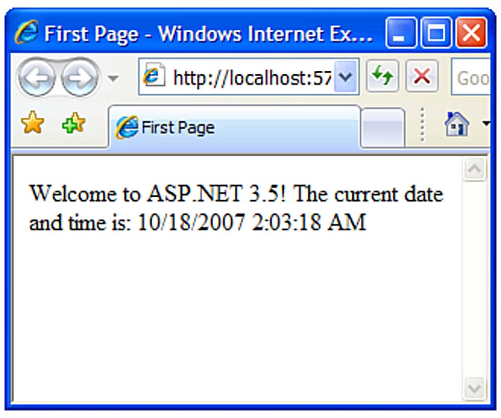 Chapter 1: Overview of the ASP NET Framework - CodeProject