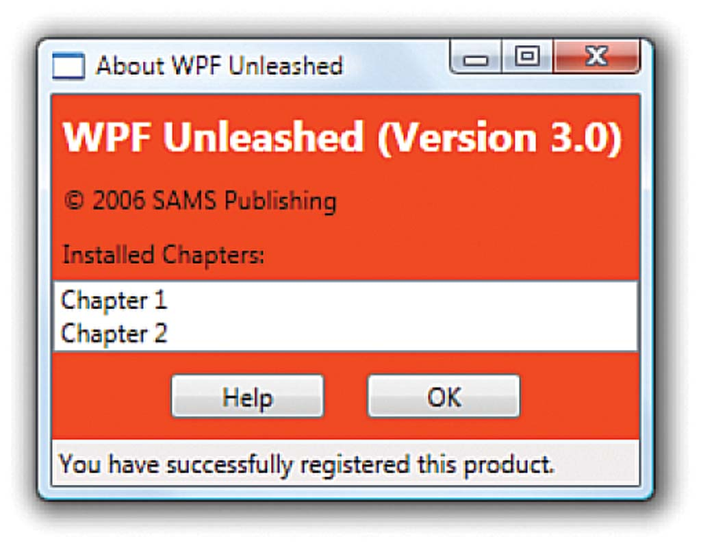 Excerpt from Windows Presentation Foundation Unleashed (WPF