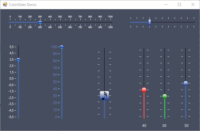 C# Slider/Trackbar Control using Windows Forms - CodeProject