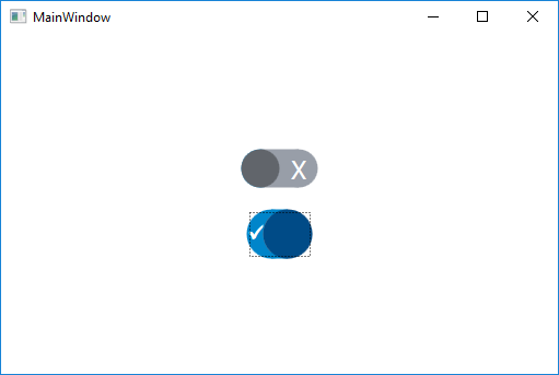 Wpf create a custom toggle control with touch and binding.