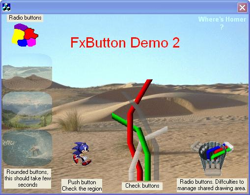 Second demo button gallery