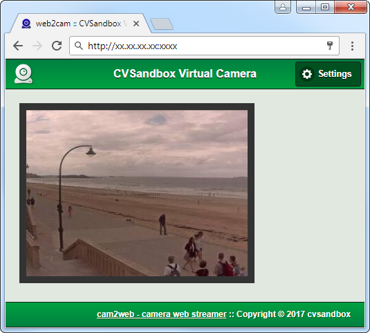 cam2web - Streaming camera to web as MJPEG stream - CodeProject