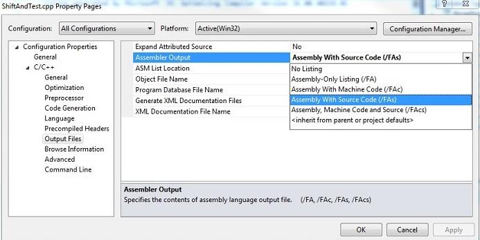 Understanding C/C++ Code Behavior by Analyzing Assembler