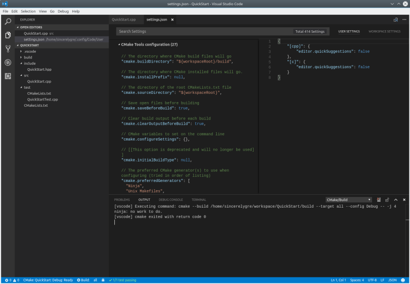 Quick Start to Use Visual Studio Code for C++ Programmers in
