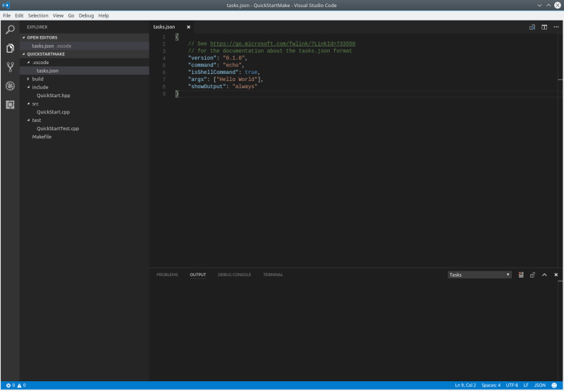 Quick start to use visual studio code for c programmers in linux 1184735maketasks3g malvernweather Gallery