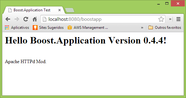 Creating a New Application Mode for Boost Application (0 4) Library
