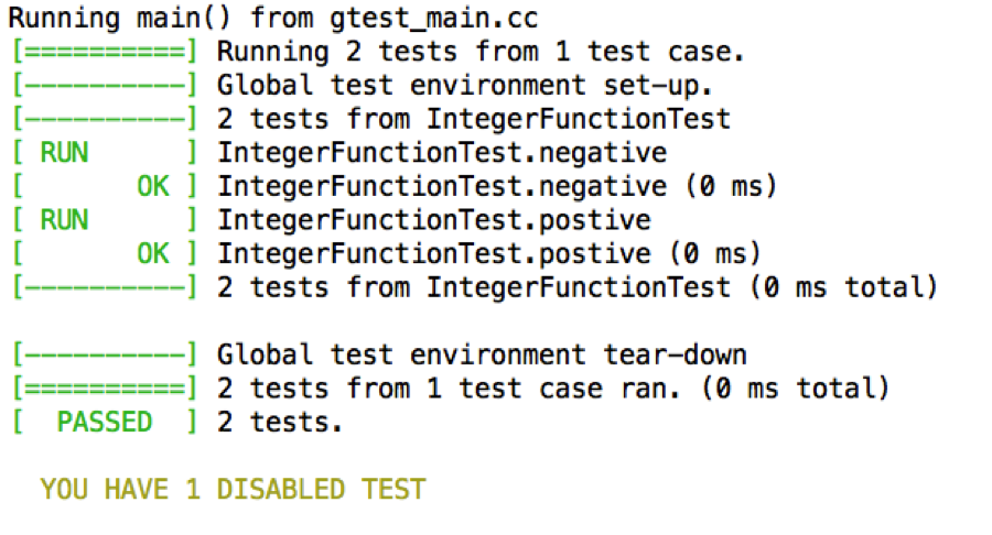 C++ unit test start guide, how to set up Google Test (gtest) in