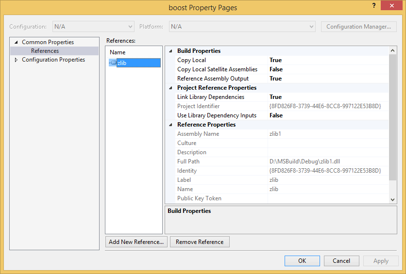 Referencing native projects in Visual Studio (MSBuild)  - CodeProject
