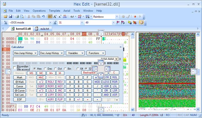 HexEdit - Window Binary File Editor - CodeProject