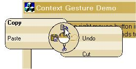 Radial Context Menu With Tips