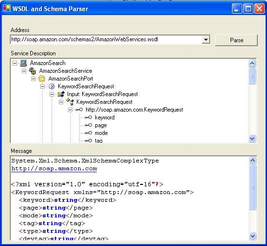 WSDL and Schema Parser - CodeProject