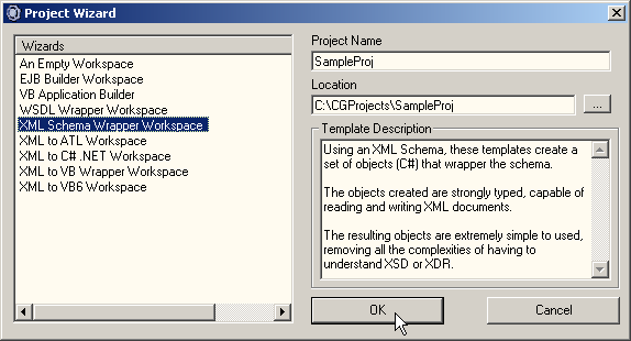 XML Code Generator: Generating Wrapper Classes from an XML Schema