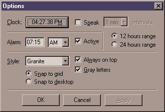 Speaking Alarm Clock - CodeProject