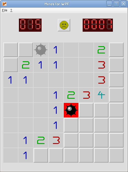 Writing a XAML Minesweeper game for X11 and Windows