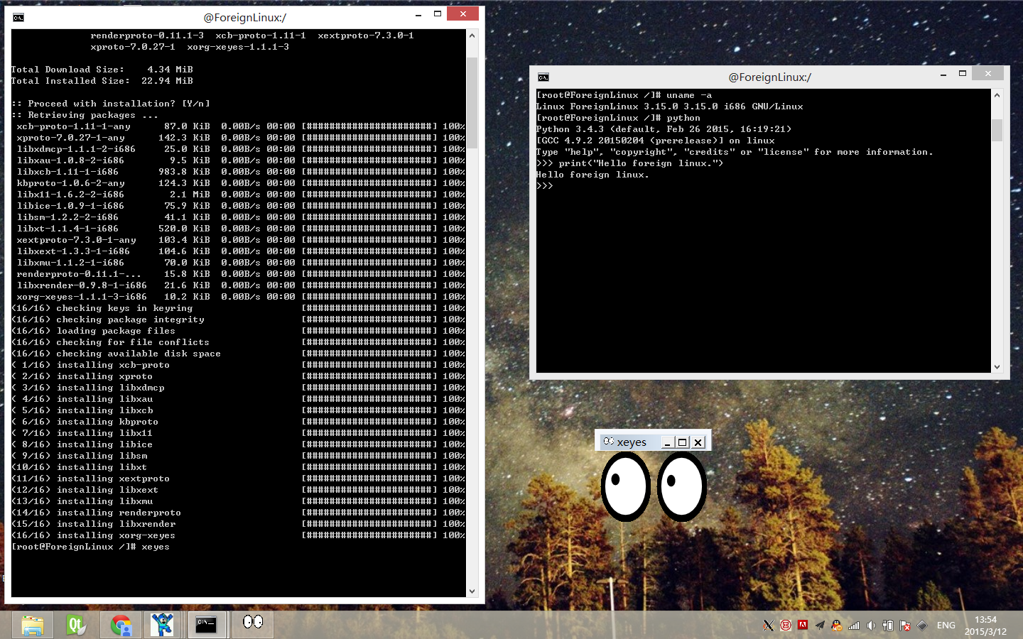 Running Unmodified Linux Binaries in Windows OS - CodeProject