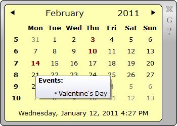 Calendar Gadget Using Qt Framework - CodeProject