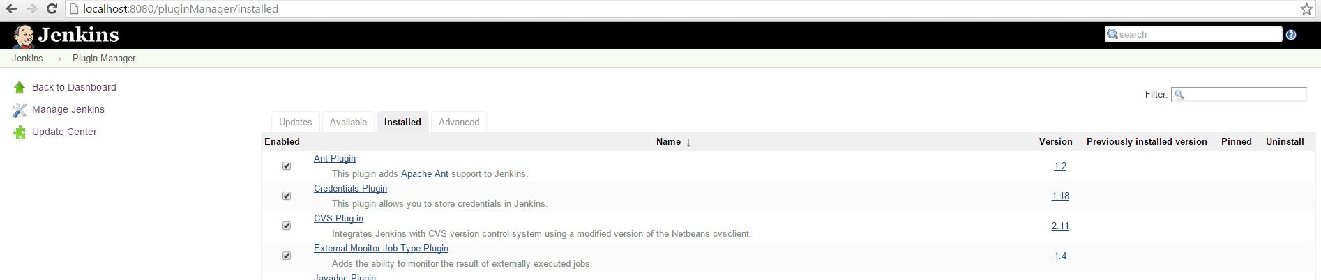 NET Application Continuous Integration ( CI ) using Jenkins