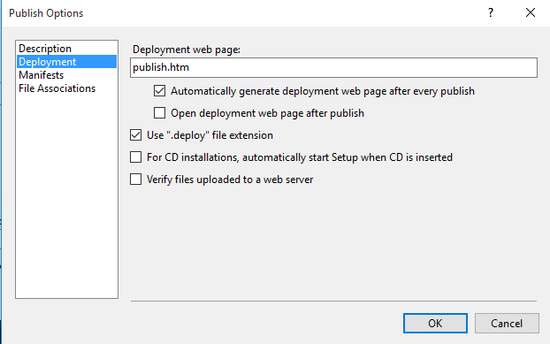 Deployment, because WPF desktop applications aren't dead yet