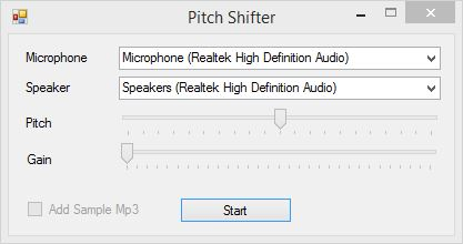 Audio Pitch Shifter - CodeProject