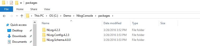 Programatically configure nlog in visual studio 2012 stack overflow.