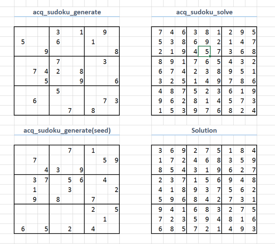 sudoku solver in excel using c and excel dna codeproject