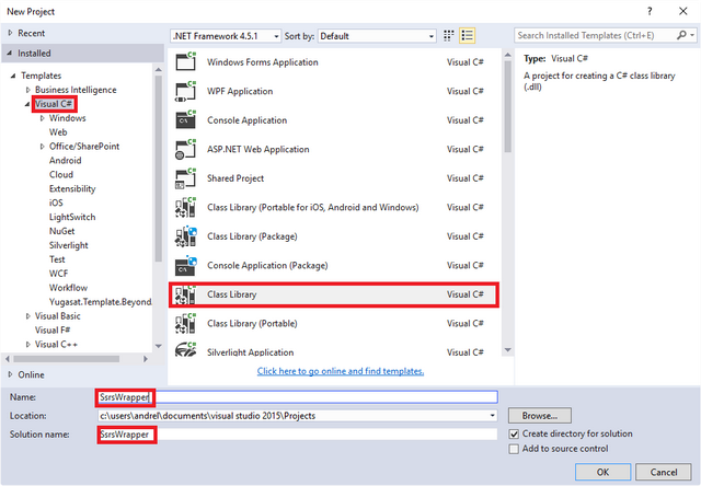 How to Write a C# Wrapper Class for the SSRS Report Service
