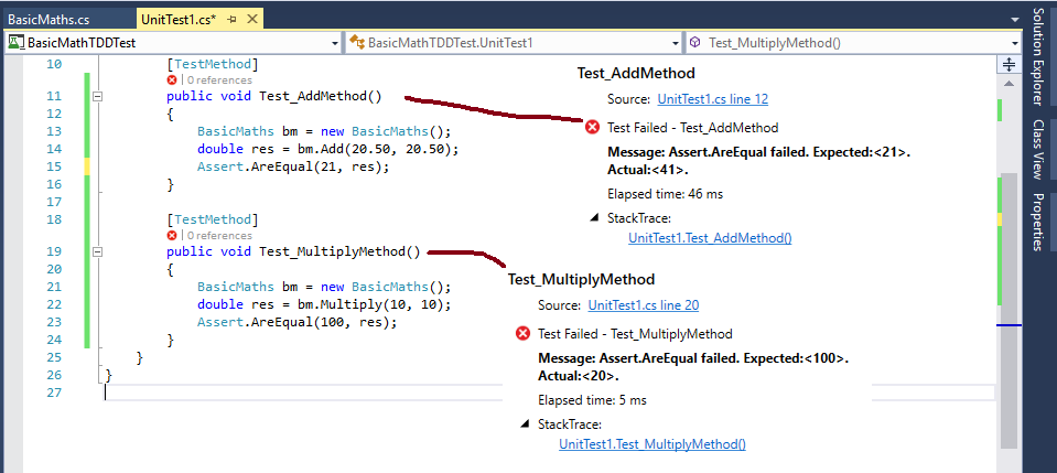 how to write unit tests java