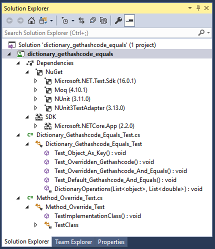 C# Dictionary & GetHashCode() & Equals() - CodeProject