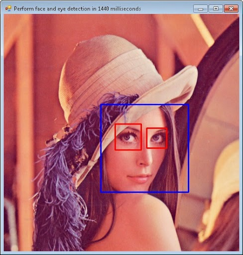 camera face detection in c  using emgu cv and wpf
