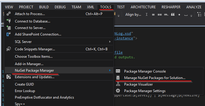 How to NLog (2 1 & 3 1) with VisualStudio 2013 - CodeProject