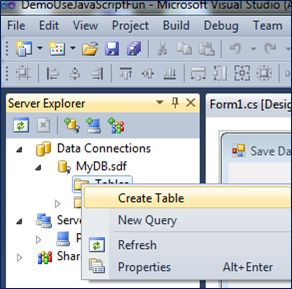 Use Local Database File Sdf In Windows Application C Codeproject