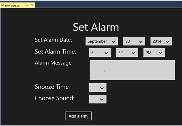 Alarm in C# - CodeProject