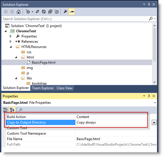 Using HTML as UI Elements in a WinForms Application with