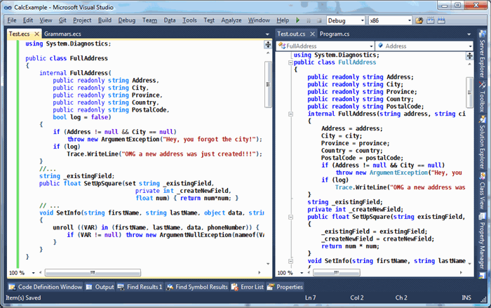 LeMP in Visual Studio