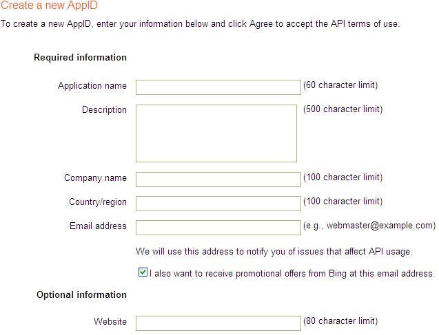 Basics of Bing Search API using  NET - CodeProject