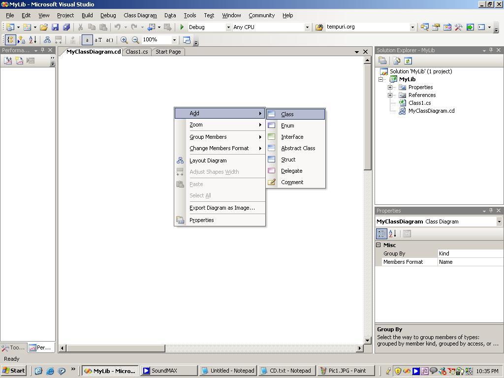 30 Visual Studio Generate Class Diagram