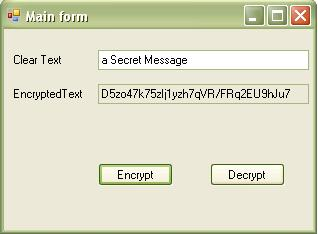 Encrypt and Decrypt Data with C# - CodeProject