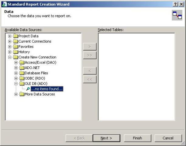 Using Crystal Report with Oracle and Parametrized Query (Passing SQL