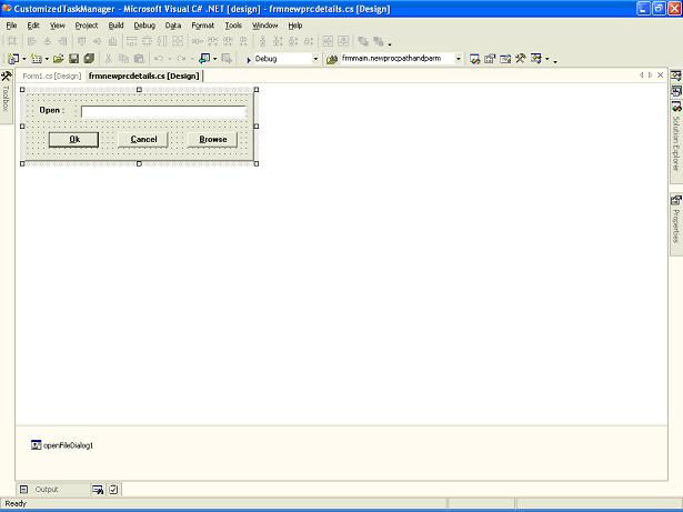 Customized Task Manager in .NET using C# and Windows Forms ...