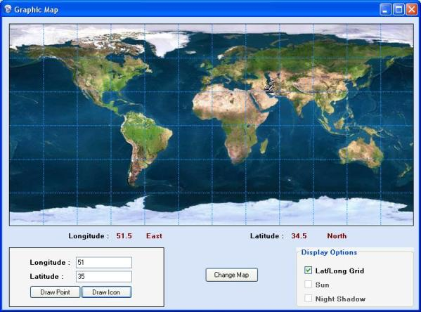 Latitude Map Of Earth.Earth Map In C Codeproject
