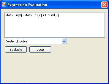 .Net Expression Evaluator using DynamicMethod